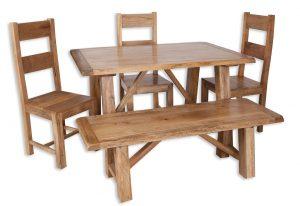Medium dining set bench b