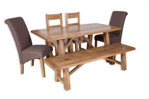 Medium dining set coffee bench