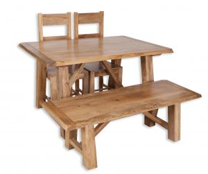 small dining set bench